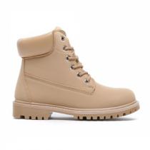 Dámské béžové kotníkové boty Cameron 094