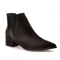 Dámské černé kotníčkové boty Natasha 974