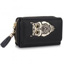 Dámská černá peněženka Anastasia 1080