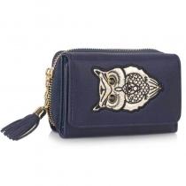 Dámská námořnicky modrá peněženka Anastasia 1080