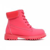 Dámské červené kotníkové boty Maya 8148