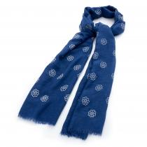 Dámský modrý šátek Lenny 30475
