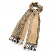 Dámský hnědý šátek Carina 30484