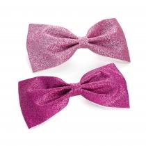 Dvě růžové sponky do vlasů Agata 30533
