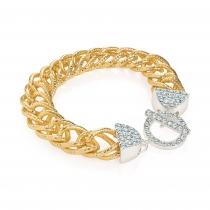 Náramek ve zlaté barvě Angelica 30582
