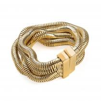 Náramek ve zlaté barvě Carlota 30618