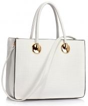 Dámská bílá kabelka Ivonny 394a