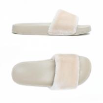 Dámské béžové pantofle Petra 027