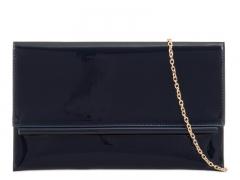 Dámské námořnicky modré lakované psaníčko Amine 964