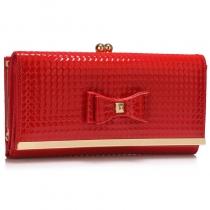 Dámská červená peněženka Hermine 1077