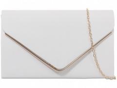 Dámské bílé semišové psaníčko Phoebe 1515