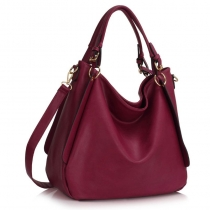 Dámská fialová kabelka Nina 448