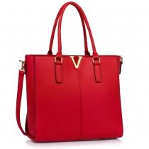 Dámská červená kabelka Belinda 420a