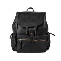 Dámský černý batoh Neapole 2109