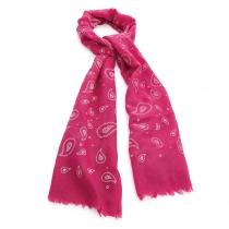 Dámský růžový šátek Cristina 30733