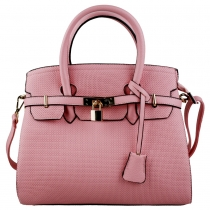 Dámská růžová kabelka Briseona 1413
