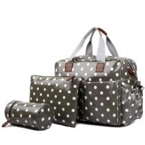 Dámská šedá cestovní taška Estrell 1501