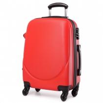 Dámský červený kufr na kolečkách Gyna 1602
