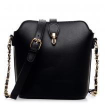 Dámská černá kabelka Lorena 1621