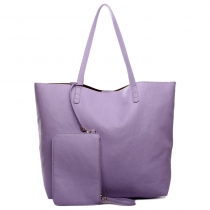 Dámská fialová kabelka Cooreh 1502