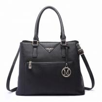 Dámská černá kabelka Clea 6611