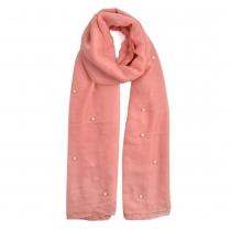 Dámský světle růžový šátek Mercedes 840