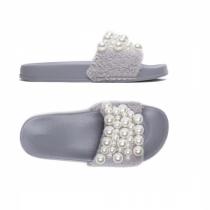 Dámské šedé pantofle Gracia 029