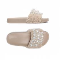 Dámské béžové pantofle Gracia 029