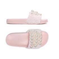 Dámské růžové pantofle Gracia 029
