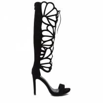Dámské černé sandály Beauty 1127