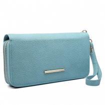 Dámská světle modrá peněženka Francesca 6683