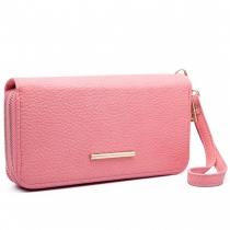 Dámská růžová peněženka Francesca 6683
