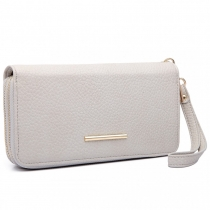 Dámská šedá peněženka Francesca 6683
