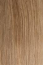 Vlasy s keratinem - 50 cm světlá blond, 50 pramenů