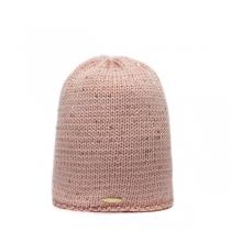 Růžová čepice Volan