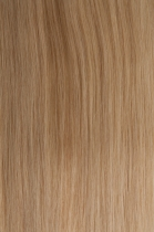 Vlasy s keratinem vlnité - 50 cm světlá blond