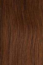 CLIP IN vlasy vlnité - set 50 cm oříšková