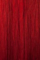 Vlasy Easy rings 10 pramenů - 50 cm červená