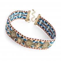 Dámský barevný náhrdelník Choka 30891