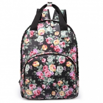 Dámský černý batoh Sakura 1658