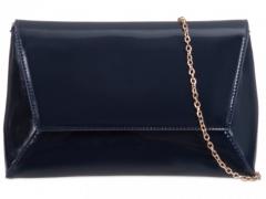 Dámské námořnicky modré lakované psaníčko Robin 467