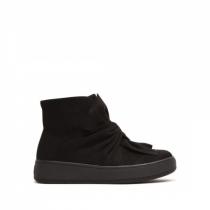 Dámské černé kotníkové boty Paola 8218