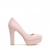 Dámské růžové lodičky Femme 6085