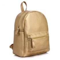 Dámský zlatý batoh Eddie 186C