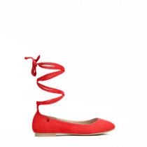 Dámské červené baleríny Ritta 1161