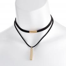 Černý náhrdelník Spirit 30801