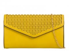 Dámské žluté psaníčko Stella 715