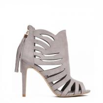 Dámské šedé sandály Melanie 1214