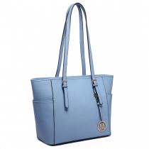 Dámská modrá kabelka Donna 1642
