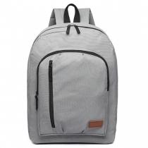 Dámský šedý batoh Grifen 6612